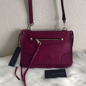 NWT Rebecca Minkoff Regan Leather Crossbody Bag